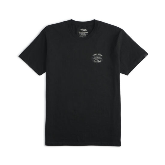Sitka Gear Altitude Tee Black Front