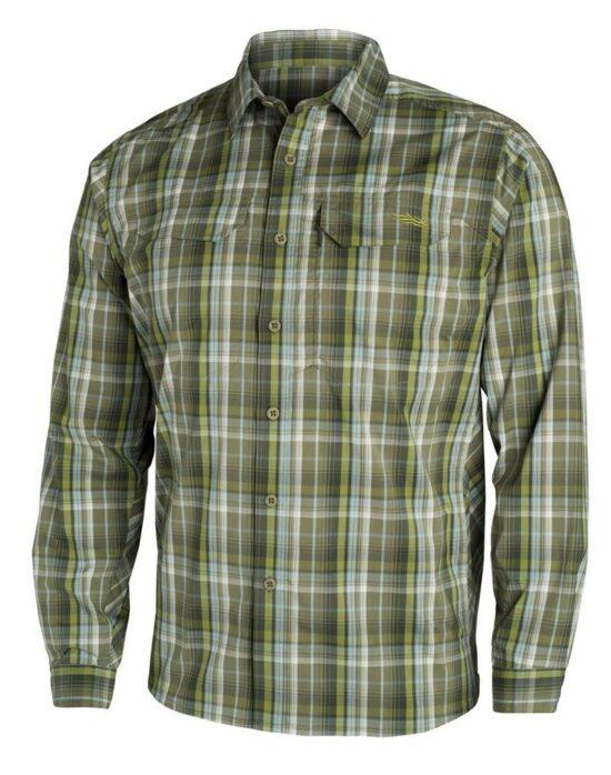 Sitka Gear Globetrotter Shirt LS Cargo Plaid