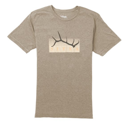 Sitka Gear - Elk Shed Tee SS Pyrite Heather