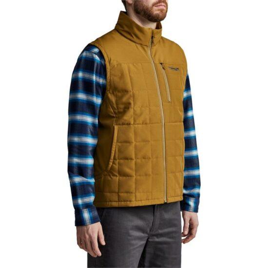 Shop - Sitka Gear - Grindstone Work Vest Olive Brown
